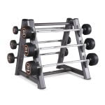 Rubber Covered Round Barbell Set 10kg to 35kg